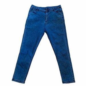 4/$40 - SHEIN Blue Wash Skinny Jeans XL (12ish)